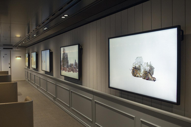 """Installation view of""""GENBI SHINKANSEN"""""""