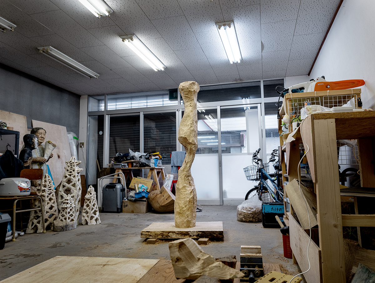 """Installation view of Solo Exhibition """"How to Carve a Sculpture"""""""