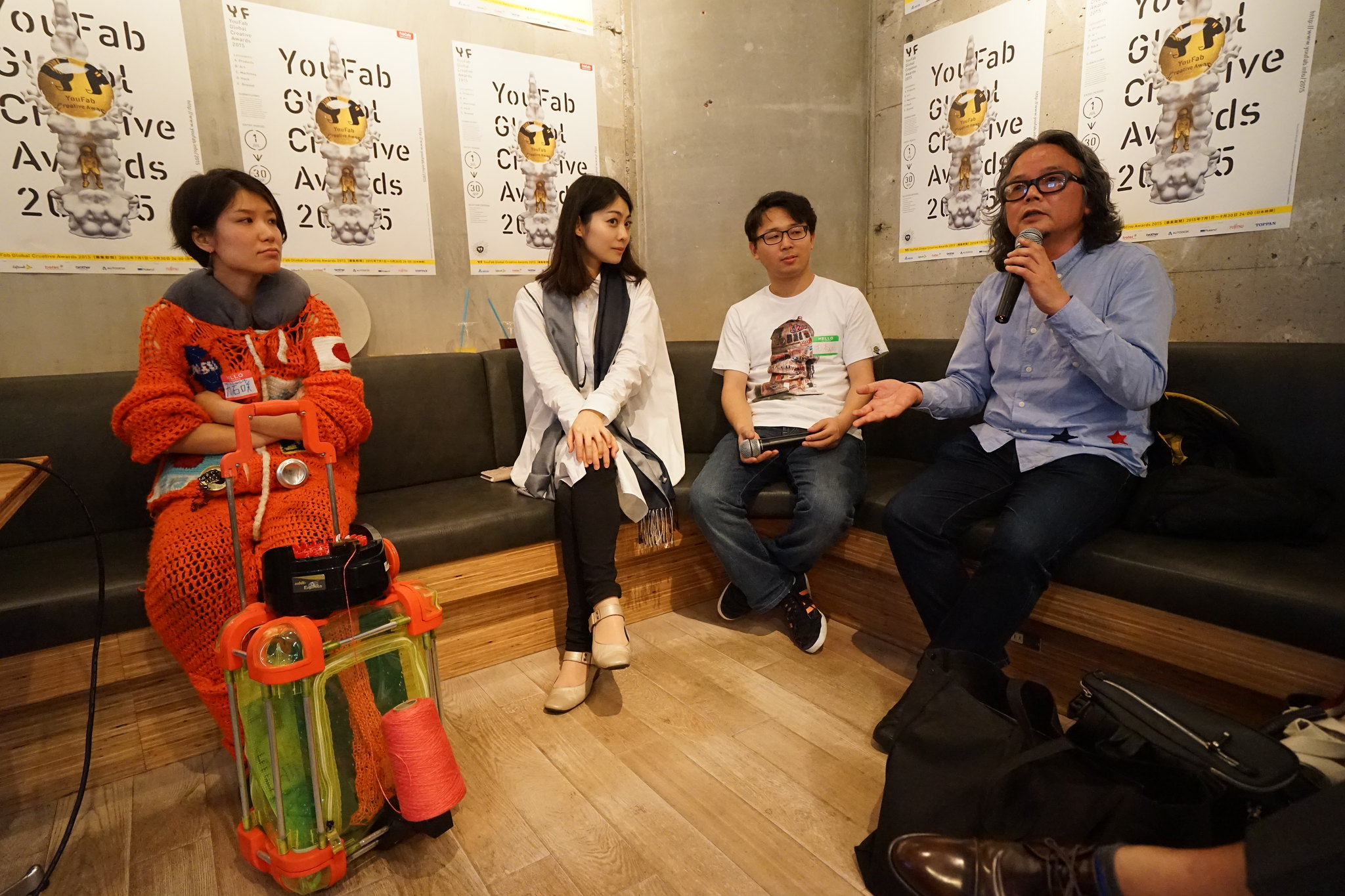 Talk: Fab Meetup Special  YouFab 2015 Kick Off Party!