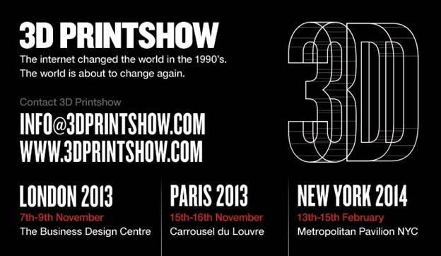Exhibition: 3D PRINT SHOW