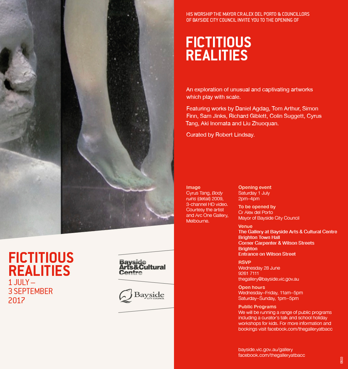 """Exhibition: group show """"Fictitious Realities"""""""